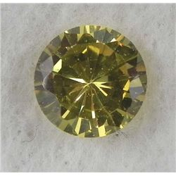 6.0ct Natural Gemstone Round Shaped Yellow Color