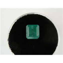 2.13 Carat Bright Glowing Green Emerald Gemstone