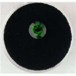 1.57 CT CHROME DIOPSIDE GREEN ROUND - NATURAL GEMSTONE