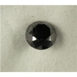3.05 Carat Loose Black Diamond Opaque-A! Clarity