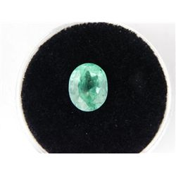 2.14 Carat Bright Glowing Green Emerald Gemstone
