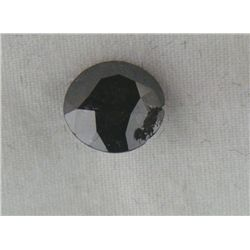 2.72 Carat Loose Black Diamond Opaque-A! Clarity