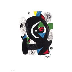 Joan Miro Ltd Ed Print from La Melodie Acide 1980 (3)