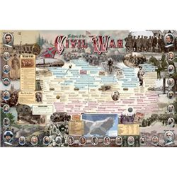 Vanguard History of the Civil War Print