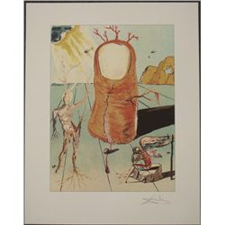 Salvador Dali : The Thumb Surrealistic Art Print