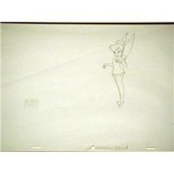 Disney Orig Drawing Tinker Bell Return to Never Land