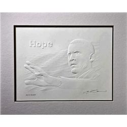 Splendid Exceptional Embossed Barack Obama Art Relief