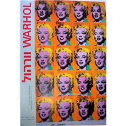 Warhol Exhibition Israeli Museum Art Exhibition Print P