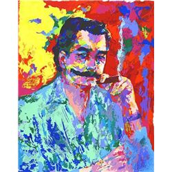 LeRoy Neiman Self Portrait Signed LE Fine Art Print