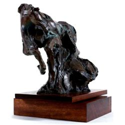 Rare GENESIS Jean Richardson Signed Bronze Horse Art