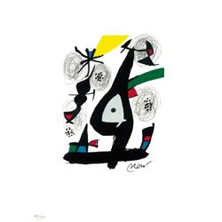 Joan Miro Ltd Ed Print from La Melodie Acide 1980 (1)