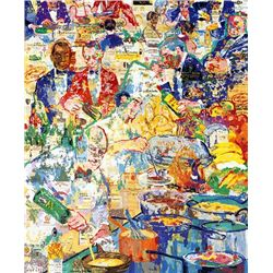 LeRoy NEIMAN Signed International Cuisine Art Print