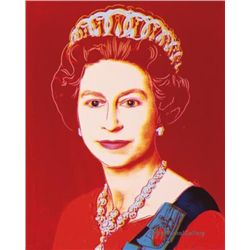 FAB LARGE Authorized Andy Warhol Royal Queens Elizabeth