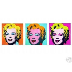 Andy Warhol Ultimate Marilyn Monroe 3 Portrait Suite!