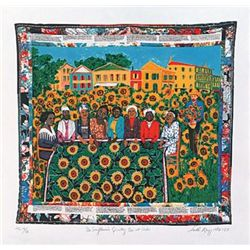 Faith Ringgold The Sunflower's Quilting Bee at Arles Si
