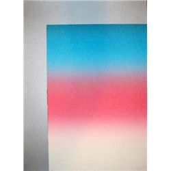 Larry Bell Signed LE Art Print Barcelona 2