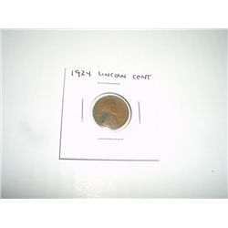 1924 LINCOLN PENNY *PLEASE LOOK AT PICTURE TO DETERMINE GRADE*!!