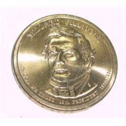PRESIDENT $1 MILLARD FILLMORE DOLLAR COIN *RARE MS-65 UNC HIGH GRADE*!!