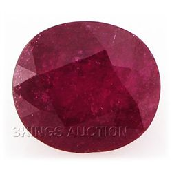 6.55ctw African Ruby Loose Gemstone