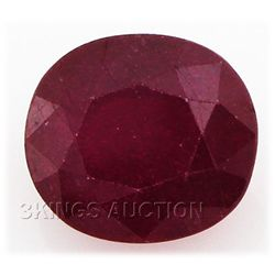 6.42ctw African Ruby Loose Gemstone