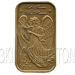 Christmas 2011 Bronze Bar X-2 Angel (with ornament hold