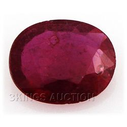 2.78ctw African Ruby Loose Gemstone