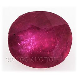 5.40ctw African Ruby Loose Gemstone