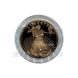 Proof American Gold Eagle Quarter Ounce - In Capsule (D