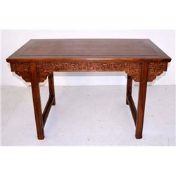 Chinese Huanghuali wistless side table