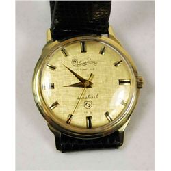 14kt  Lucien Picard men's wristwatch Seashark