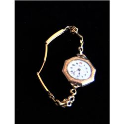 "Gold filled ladies watch ""Reid, Swiss"""
