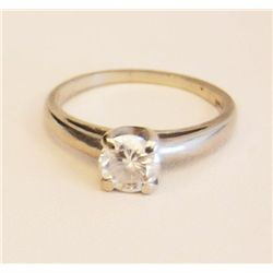 Platinum & diamond ring approx. 1.5 carat