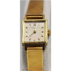 18kt yellow gold Patek Philippe ladies watch