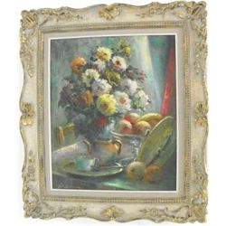 Oil painting  Still Life  artist signed lower left