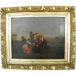 Early 19th c. Spanish Old Master painting
