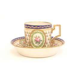 19th c. possibly French cup & saucer
