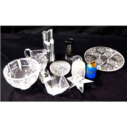 Group lot of glassware 12 pieces