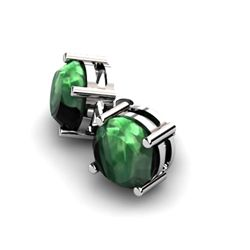 Emerald 12.20ctw Earring 14kt White Gold