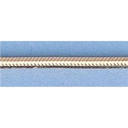 """Pure Gold 16"""" 14k Gold-Yellow 1.6mm DC Snake Chain"""