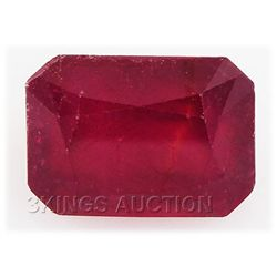 6.30ctw African Ruby Loose Gemstone