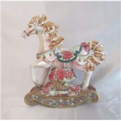 Musical Rocking Horse by San Fran Music Box