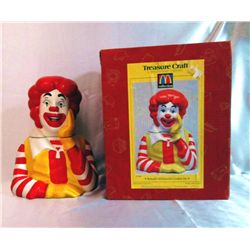 1997 Ronald McDonald Cookie Jar