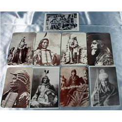 Native American & Buffalo Bill Postcards