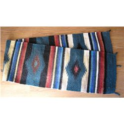 Large Decorative Mexican Runner Rug