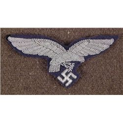 ORIGINAL NAZI LUFTWAFFE OFFICER'S TUNIC BREAST EAGL