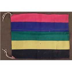 "ORIGINAL 1936 NAZI GERMANY OLYMPICS 14X17"" FLAG"