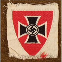 ORIGIANL NAZI SLEEVE PATCH FOR UNIFORM