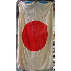 VERY RARE WWII JAPANESE NATIONAL BANNER/FLAG ORIGINAL