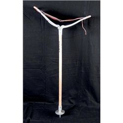 Vintage Seat Cane Folding Walking Stick 1920s-30s