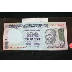 1996 Indian 100 Rupees Foreign Bank Note